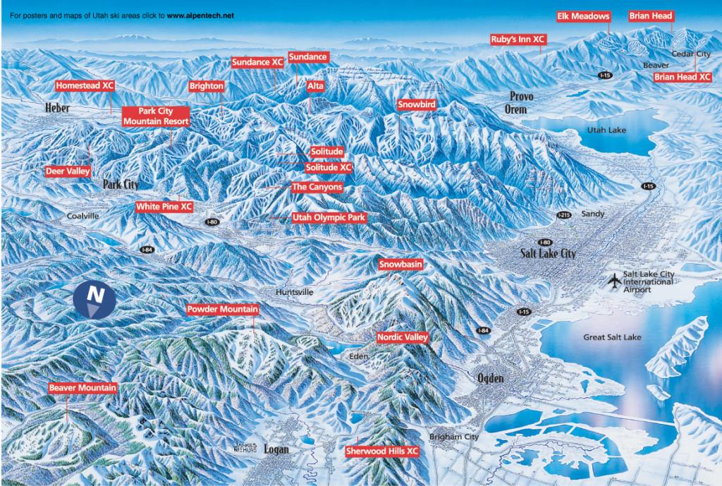 The 5 Fanciest Ski Resorts on Earth - SnowBrains |Utah Ski Resorts List