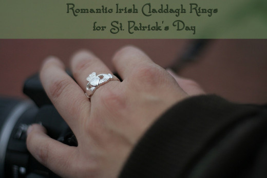 Romantic Irish Claddagh Rings for St. Patrick's Day (or Valentine's Day)