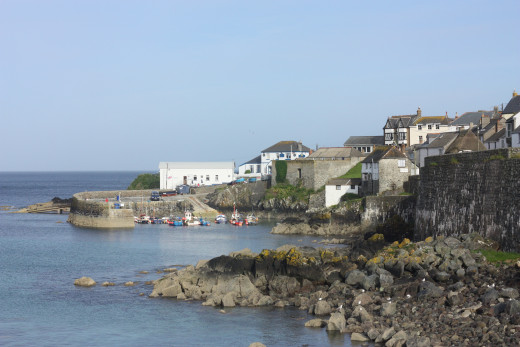 The little Cornish village of Coverack