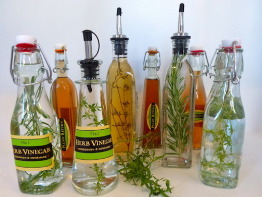 how to make tarragon vinegar with dried tarragon