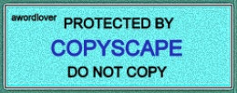 This means don't copy this article. It also means if you DO copy, a notice of copyright infringement will be filed against you.