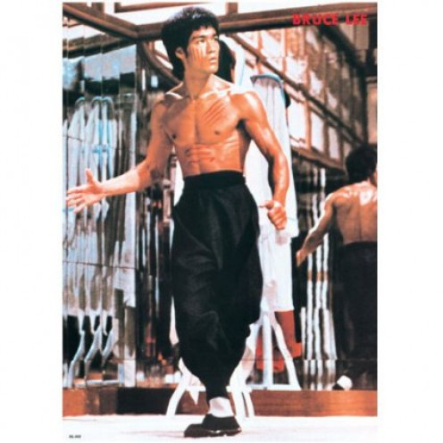 Image of Bruce Lee, in the movie, 'Enter The Dragon.'