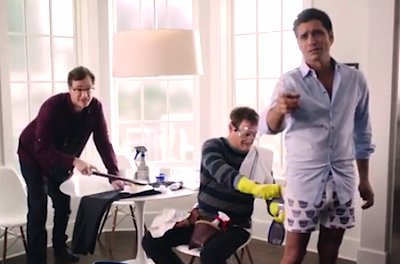 Uncle Jesse, Uncle Joey, and Danny Tanner perform a Full House throwback for Oikos Greek Yogurt.  Sexually charged and witty!