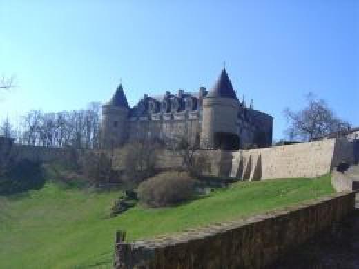 Chateau de Rochechouart - Rochechouart castle, now a centre for contemporary art