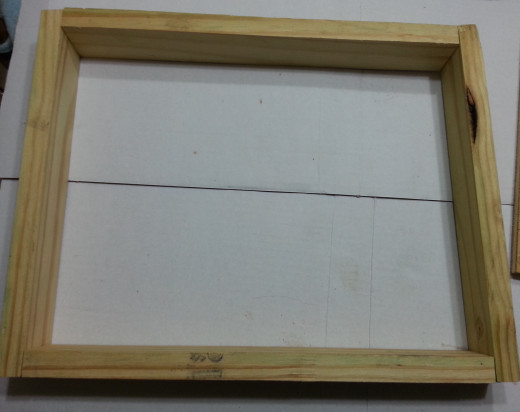 Back Frame of the Planter
