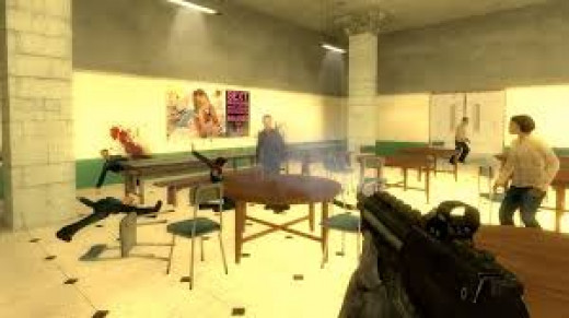 School shooter - A video game based on the Columbine massacre