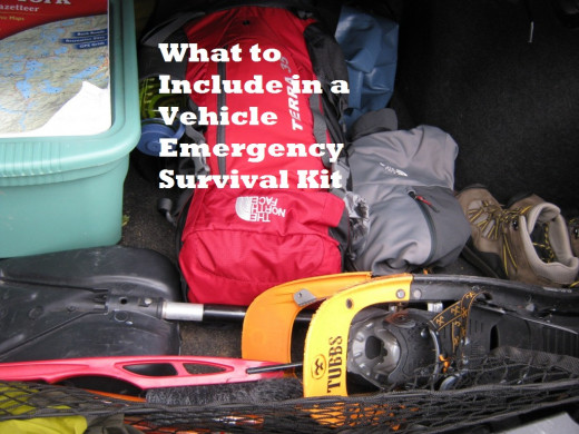 A well stocked trunk is the key to surviving a winter driving emergency.