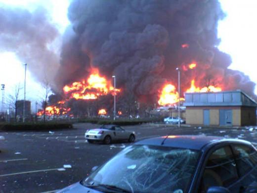 Buncefield Fire, Hertfordshire