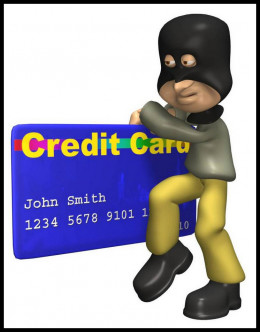 Thieves don't need a physical credit card - just the number.