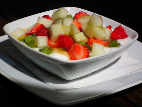 Turn on the heat with some fruit salad