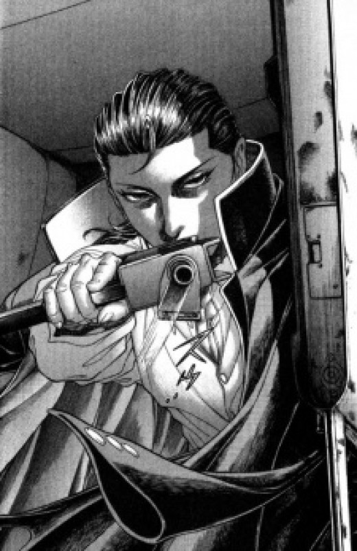 Kiriyama, the emotionless villain
