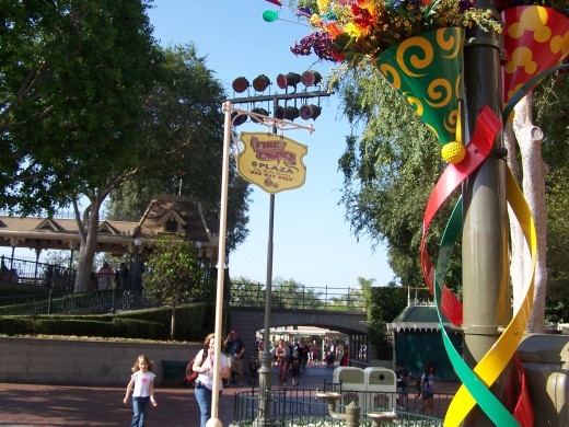 The sign for the fire engine stop in Town Square
