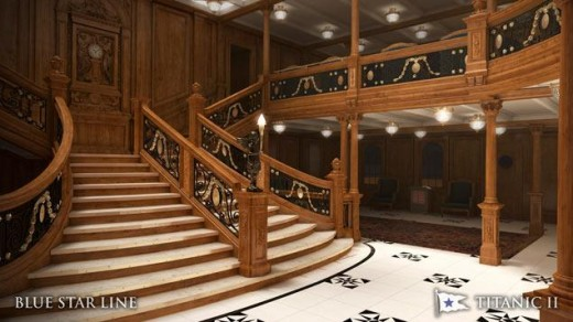 The Grand Staircase Of Titanic II
