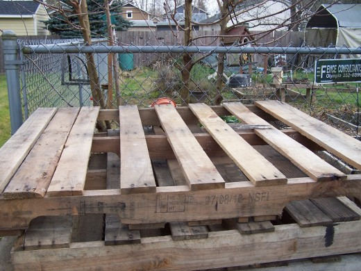 Wooden pallets give you so many options