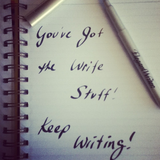 Journals, Moleskine notebooks, fountain pens, and other office supplies are always in great demand by writers! You can't go wrong buying a fancy pen for a writer!