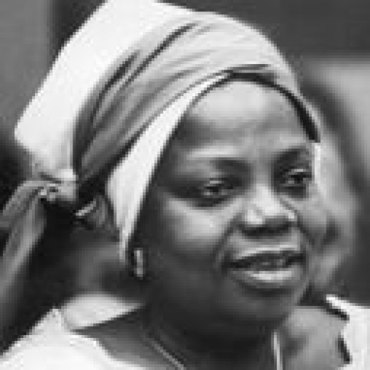 """Bruchi Emecheta, author of """"The Bride Price"""" left her husband, with whom she had 5 children, after he refused to read her first novel and burned it right in front of her."""