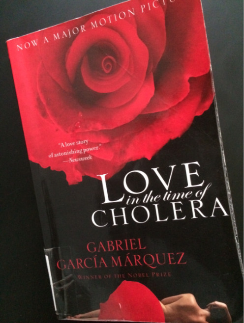 Love in the Time of Cholera Book (Personal copy)