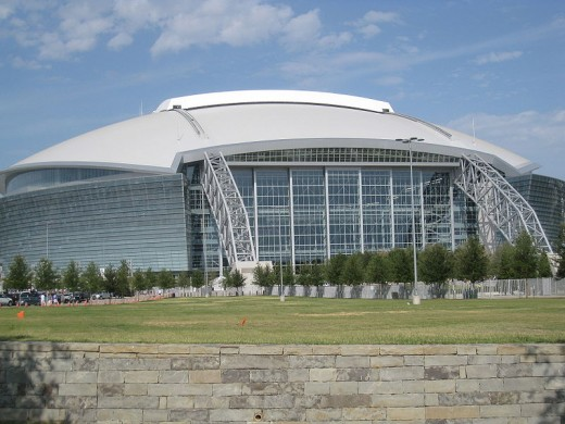 Cowboys Stadium in Arlington, TX.