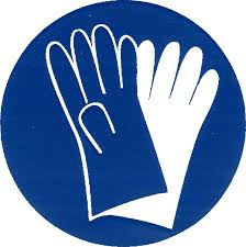 PPE sign--Wear Gloves