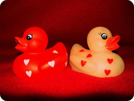 Valentine's Day Duckies