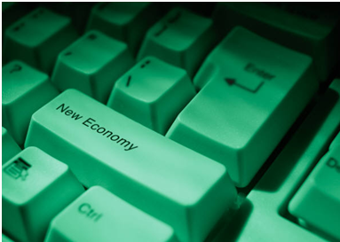 "If only we had a ""New Economy"" button to press to make all of our budget problems disappear."