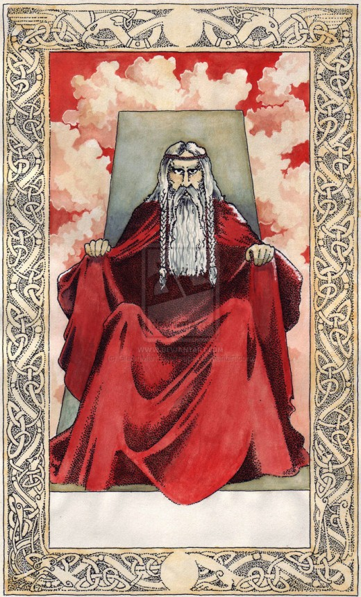 The Norse Viking God Tyr.