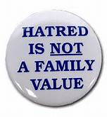 """Hate is """"taught"""" and can be learned.  Love is eternal"""