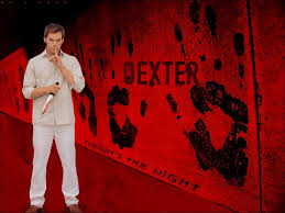 Michael. C. Hall portrays Dexter Morgan, a serial killer and blood splatter analyst