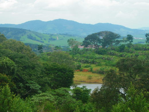 Part of the property of Fazenda Ambiental Fortaleza