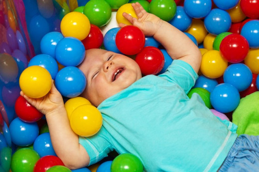You may be joyful, but you will never be baby in a ball pit joyful.