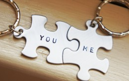 You and Me key ring. Adorable gift