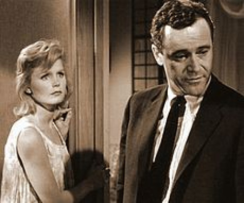 Jack Lemmon and Lee Remick play a married couple in 'Days of Wine and Roses.'