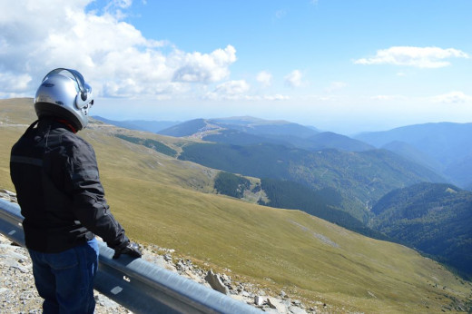Transalpina Road - the newest, highest mountain Road in Romania