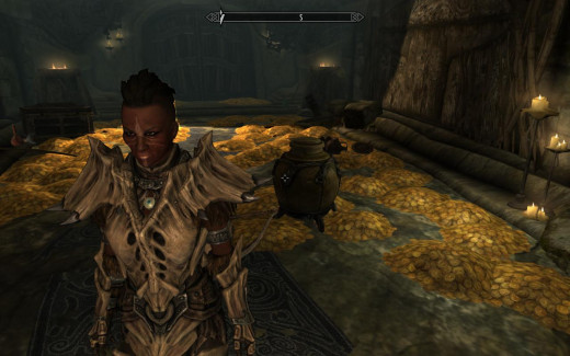 And before you get too angry, here's my character from Skyrim. ^_^