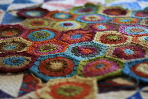 Granny Octagon Crochet Afghan