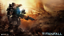 Titanfall - armored soldiers and mechs in a futuristic shooter! COOL!