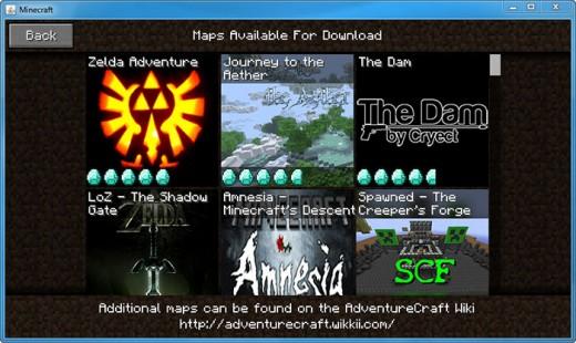 Adventurecraft Maps