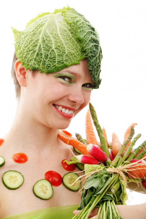 Image of Vegie Lady.