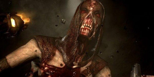 Jericho was produced for the Xbox 360 and the PS3. It features some very gory cut scenes and weapons such as, knives and guns, that are terrifying.