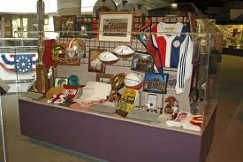 The museum features memorabilia from athletes born Alabama. It has several interactive exhibits, live demonstrations and items from former athletes.
