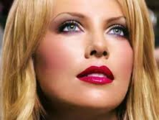 The exquisitely gorgeous South African Hollywood actress, Charlize Theron.