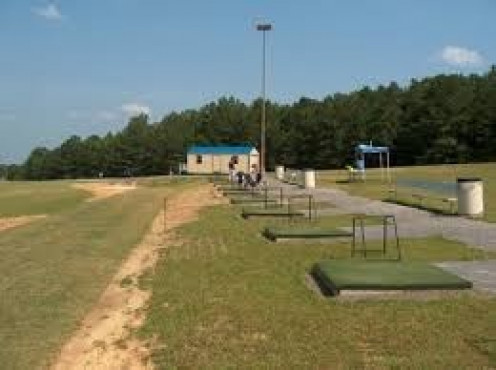 The driving range is a nice addition for those who like the sport of Golf.