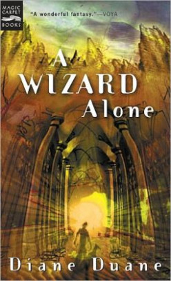A Wizard Alone (Young Wizards #6) by Diane Duane