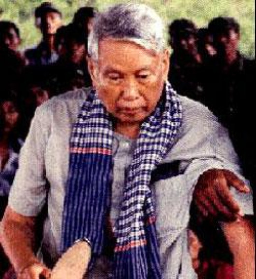 Pol Pot just before he died