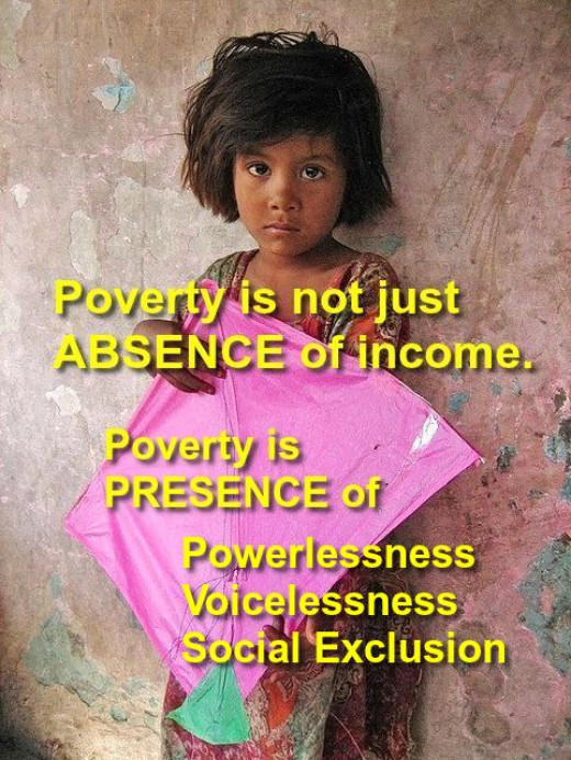 Why I am not free from poverty