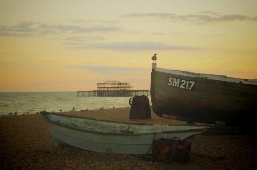 The Western Pier, Brighton
