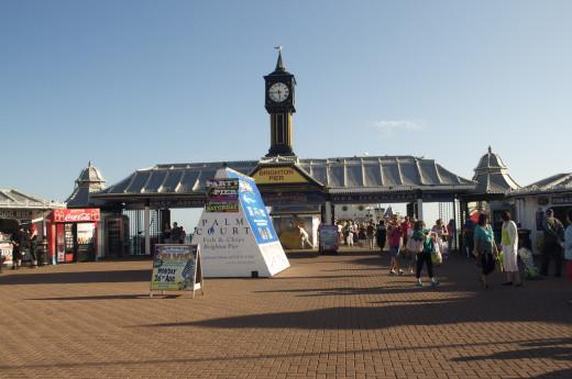 Palace Pier Clock
