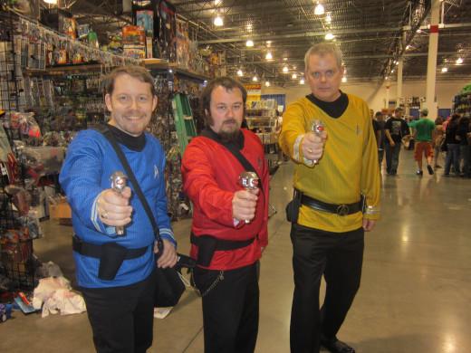 Star Trek cosplayers from Motor City Comic Con 2013.