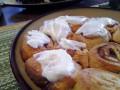 Easy Peasy Homemade Cream Cheese Cinnamon Roll Icing