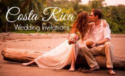 Costa Rica Destination Wedding Invitations